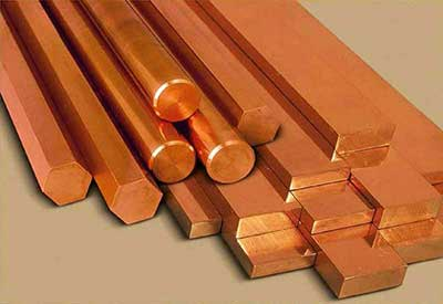 Copper Sheets And Round Bars Suppliers India