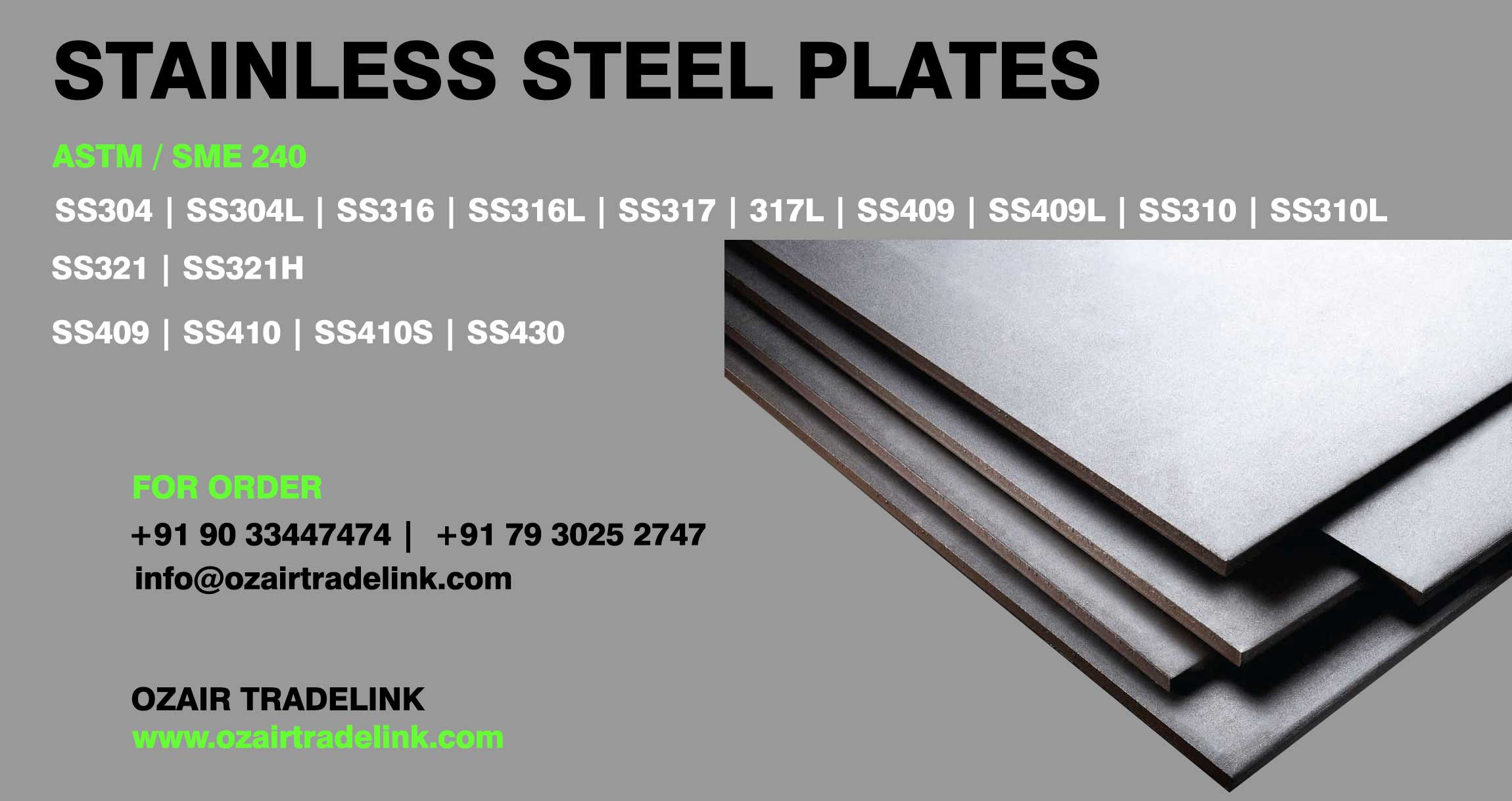 stainlesssteel  plates manufacturer in india